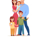 Family Cartoon Style - GraphicRiver Item for Sale