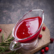 Cranberry sauce on stone - PhotoDune Item for Sale