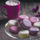 Macaroons on plate - PhotoDune Item for Sale