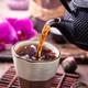 Black tea pouring closeup - PhotoDune Item for Sale
