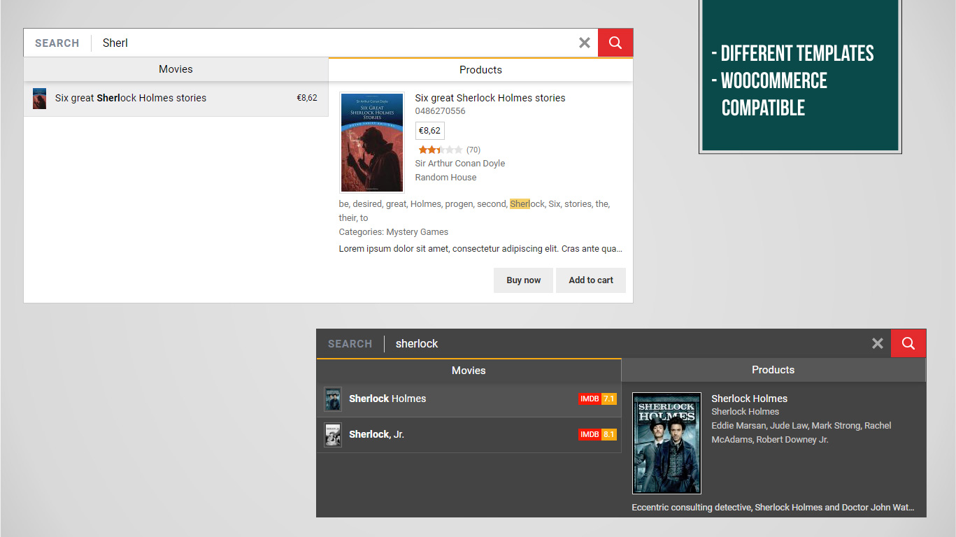 i-Search Pro - Ultimate Live Search by all4wp | CodeCanyon