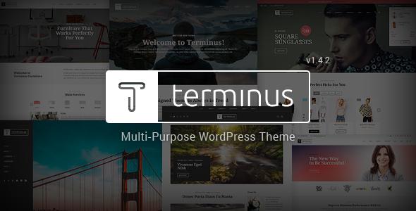 Terminus - Responsive Multi-Purpose WordPress Theme - WooCommerce eCommerce