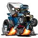 Custom T-Bucket Roadster Hotrod Cartoon - GraphicRiver Item for Sale