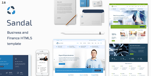 Sandal - Ultimate Business Drupal 8.6 Template - Drupal CMS Themes