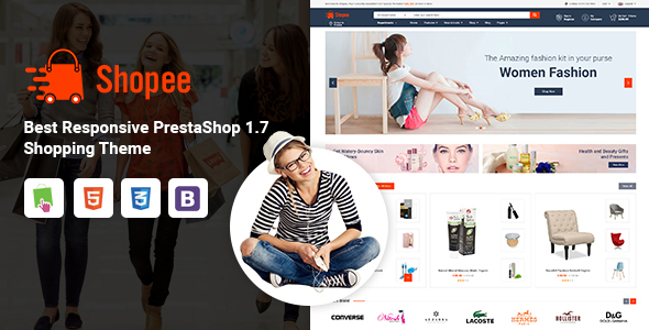 Shopee - MultiPurpose PrestaShop 1.7 Responsive Theme - Shopping PrestaShop