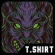 Wolves Night T-Shirt Design - GraphicRiver Item for Sale