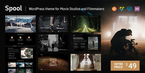 Spool | Movie Studios and Filmmakers WordPress Theme - Portfolio Creative