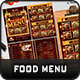 Food Menu Templates - GraphicRiver Item for Sale
