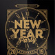 New Year Party 2019 - GraphicRiver Item for Sale