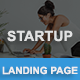 Free Download Startup - Responsive HTML Landing Page Nulled