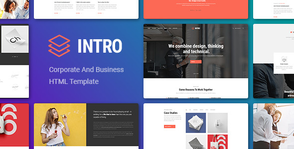 INTRO - Corporate And Business HTML Template - Corporate Site Templates