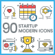 Startup Icons - Modern - GraphicRiver Item for Sale
