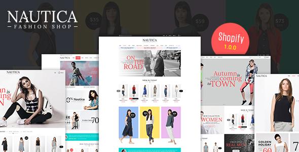 Nautica - Multi Store Responsive Shopify Theme - Shopify eCommerce