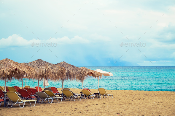 Summer tropical beach - Stock Photo - Images
