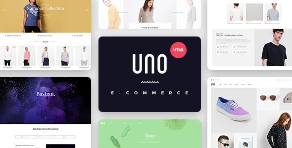 UNO - Multi Store Responsive HTML Template