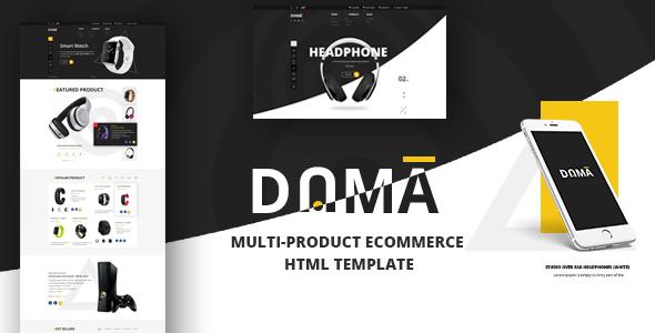 Dama - Multi Store Responsive HTML Template - Retail Site Templates