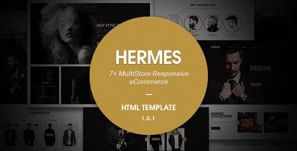 Hermes - Multi Store Responsive HTML Template - Retail Site Templates