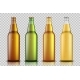 Set of Realistic Glass Beer Bottle with Liquid - GraphicRiver Item for Sale