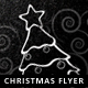 Chalkboard Christmas Flyer - GraphicRiver Item for Sale