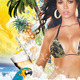 Tropical Spring Summer Beach Night Flyer Party - GraphicRiver Item for Sale