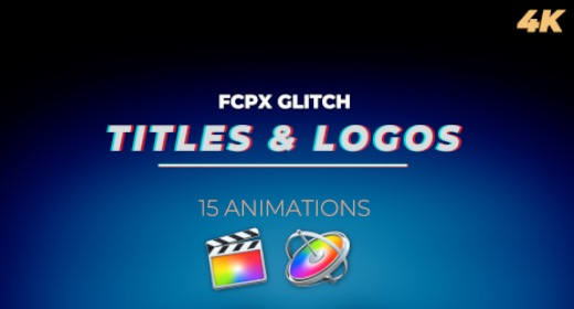 Glitch Titles and Logos