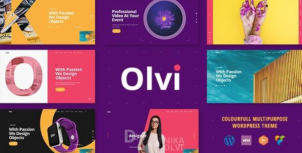 Olvi | A Creative MultiPurpose WordPress Theme - Portfolio Creative