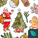 20 Christmas Illustrations Watercolor Style - GraphicRiver Item for Sale