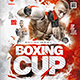 Flyer Boxing Cup - GraphicRiver Item for Sale
