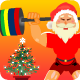 Santa Claus Weightlifter - CodeCanyon Item for Sale