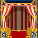 Carnival Poster with Circus Tent - GraphicRiver Item for Sale