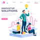 Creative Answer Cartoon Concept - GraphicRiver Item for Sale