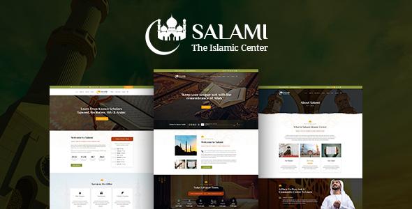 Salami -  Islamic Center &  Forum - Nonprofit PSD Templates