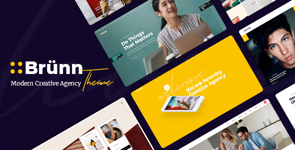 Brünn - Creative Agency Theme - Business Corporate