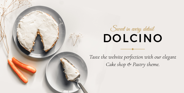 Dolcino - Pastry and Cake Shop Theme - Food Retail