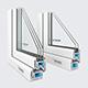 Window profile - Rehau Blitz New - Rehau Grazio - 3DOcean Item for Sale