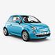 City Car 500 Mockup - GraphicRiver Item for Sale