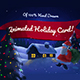 Christmas Animated Hand Drawn Card - VideoHive Item for Sale