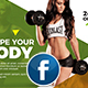 Sports | Fitness Facebook Cover Template - GraphicRiver Item for Sale