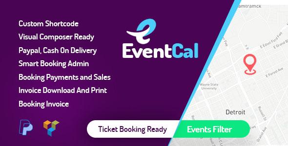 EventCal - event calendar wordpress plugin - CodeCanyon Item for Sale