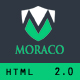 MORACO - Personal Vcard Resume HTML Template - ThemeForest Item for Sale