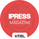 iPress News and Magazine Template - ThemeForest Item for Sale