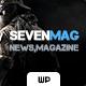 Sevenmag Magazine Blog Theme - ThemeForest Item for Sale