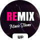 Remix Music and Radio Theme - ThemeForest Item for Sale