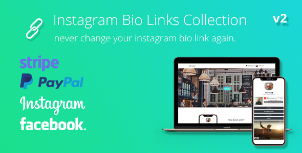 BioLinks - Boost Instagram Bio Linking - CodeCanyon Item for Sale