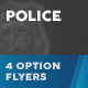 Police Flyers – 4 Options - GraphicRiver Item for Sale