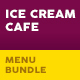 Ice Cream Cafe Print Bundle - GraphicRiver Item for Sale