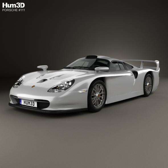 Porsche 911 GT1 Stradale (993) 1996