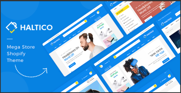 Haltico – Mega Store Shopify Theme