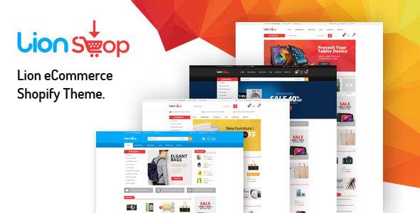 Lion – eCommerce Shopify Theme