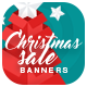 Free Download Christmas Sale Web Banner Set Nulled